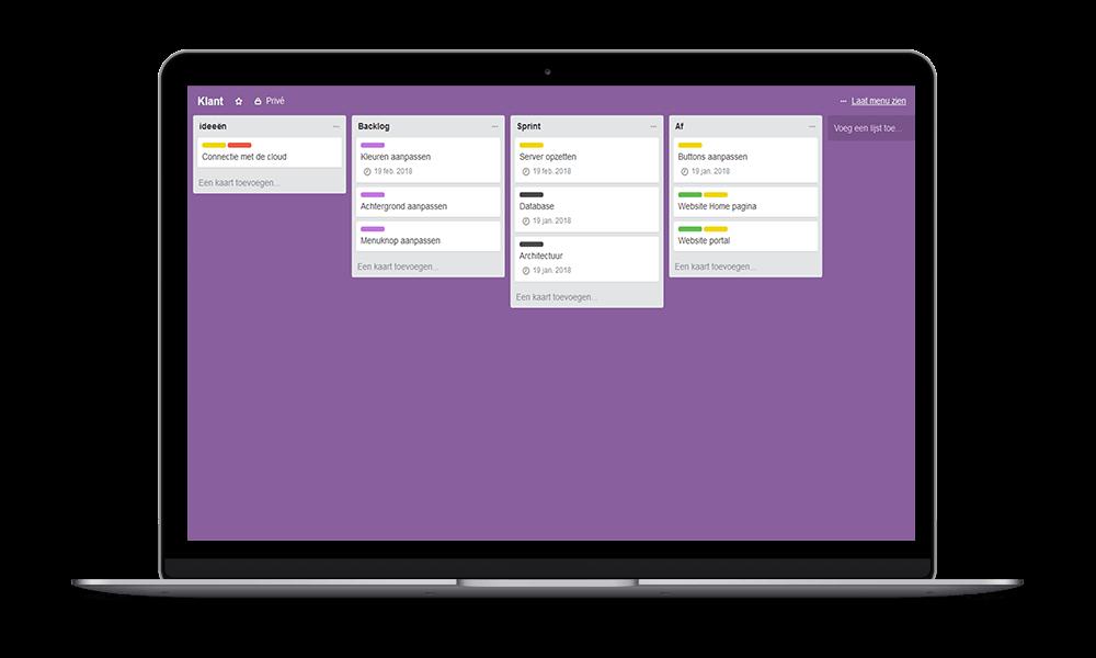 Agile werken aan software, My Identity Zoetermeer