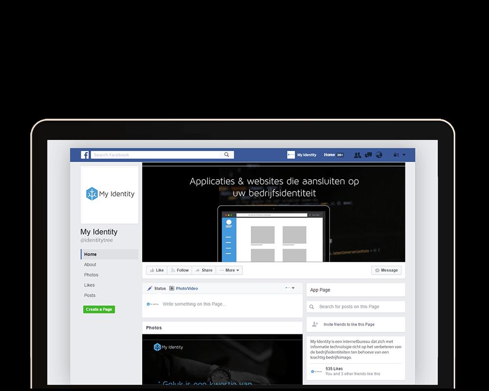 Volg My Identity op Facebook